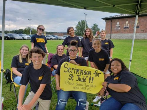 Student Council Raises Money for St. Jude