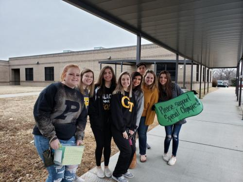 Student Council Raises Money for Special Olympics