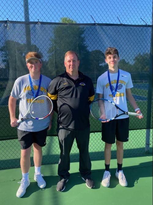 Corey, Coach Hud, and Parker