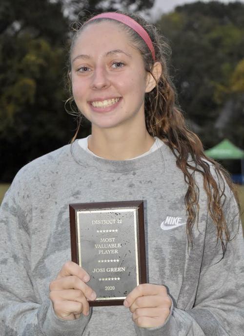 District MVP Josi Greene