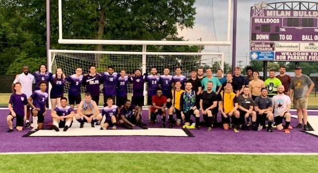 Peabody and Milan Soccer Alumni Game 2021