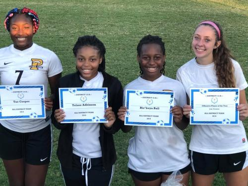 Soccer Girls 2019 All-District