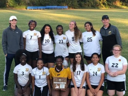 Soccer Girls Team 2019