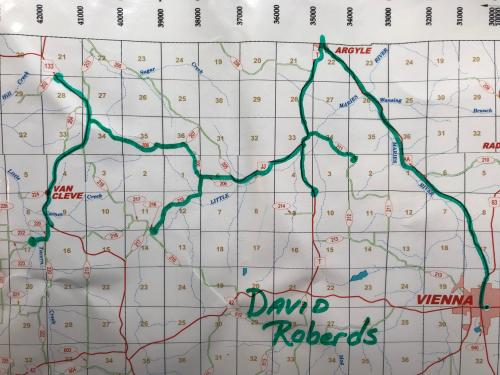Bus #9 - David Roberd's Route