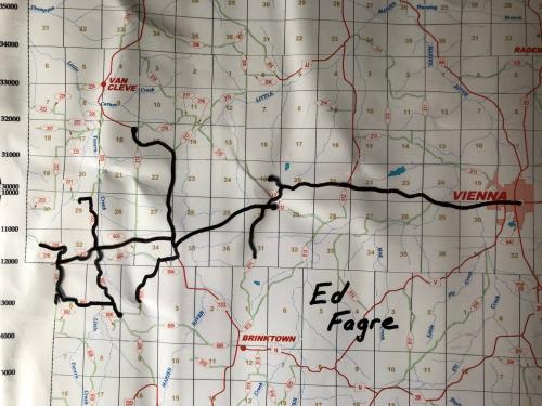 Bus #5 - Ed Fagre's Route
