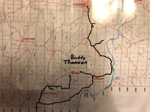 Bus #4 - Buddy Thomson's Route