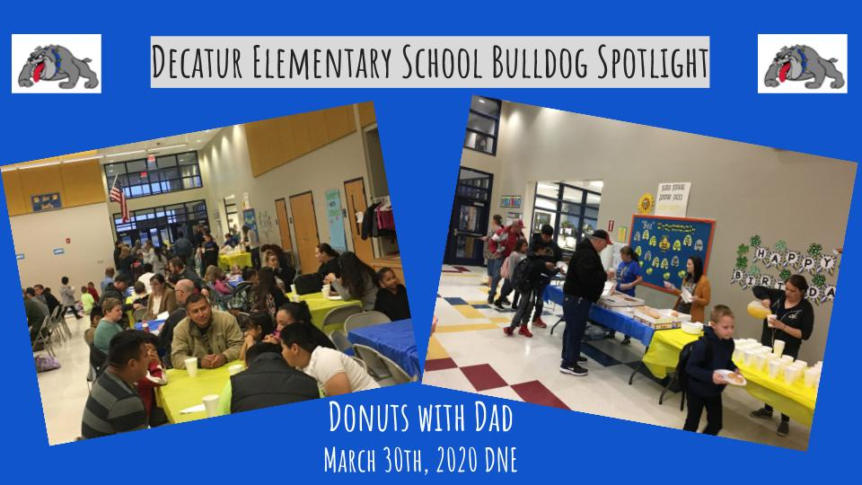Donuts with Dad! Decatur Northside Elementary