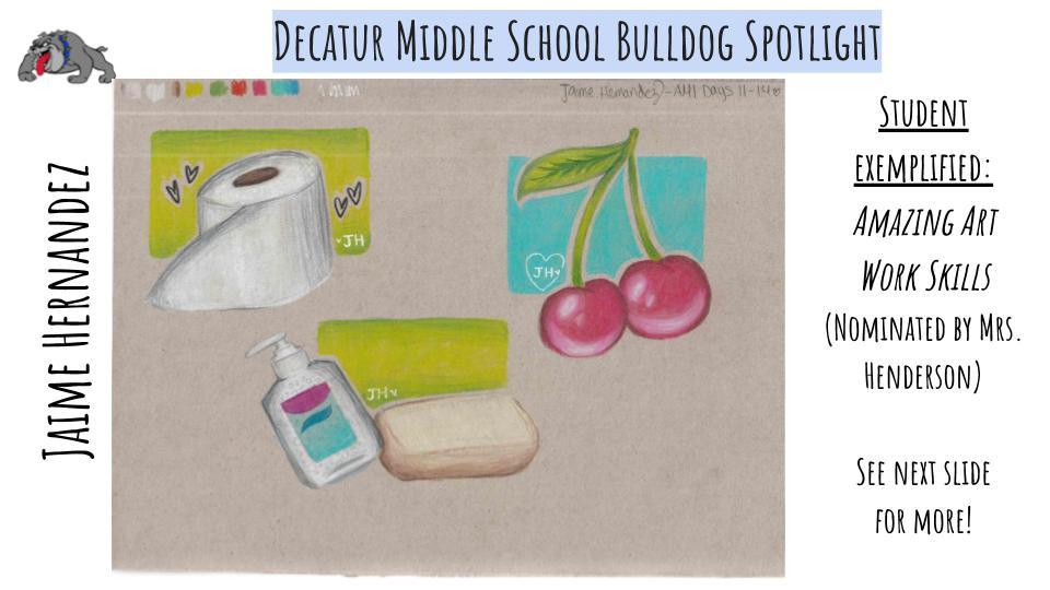 Middle School Bulldog Spotlight: Jaime Hernandez