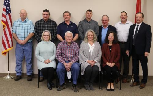 Group photo of school board members