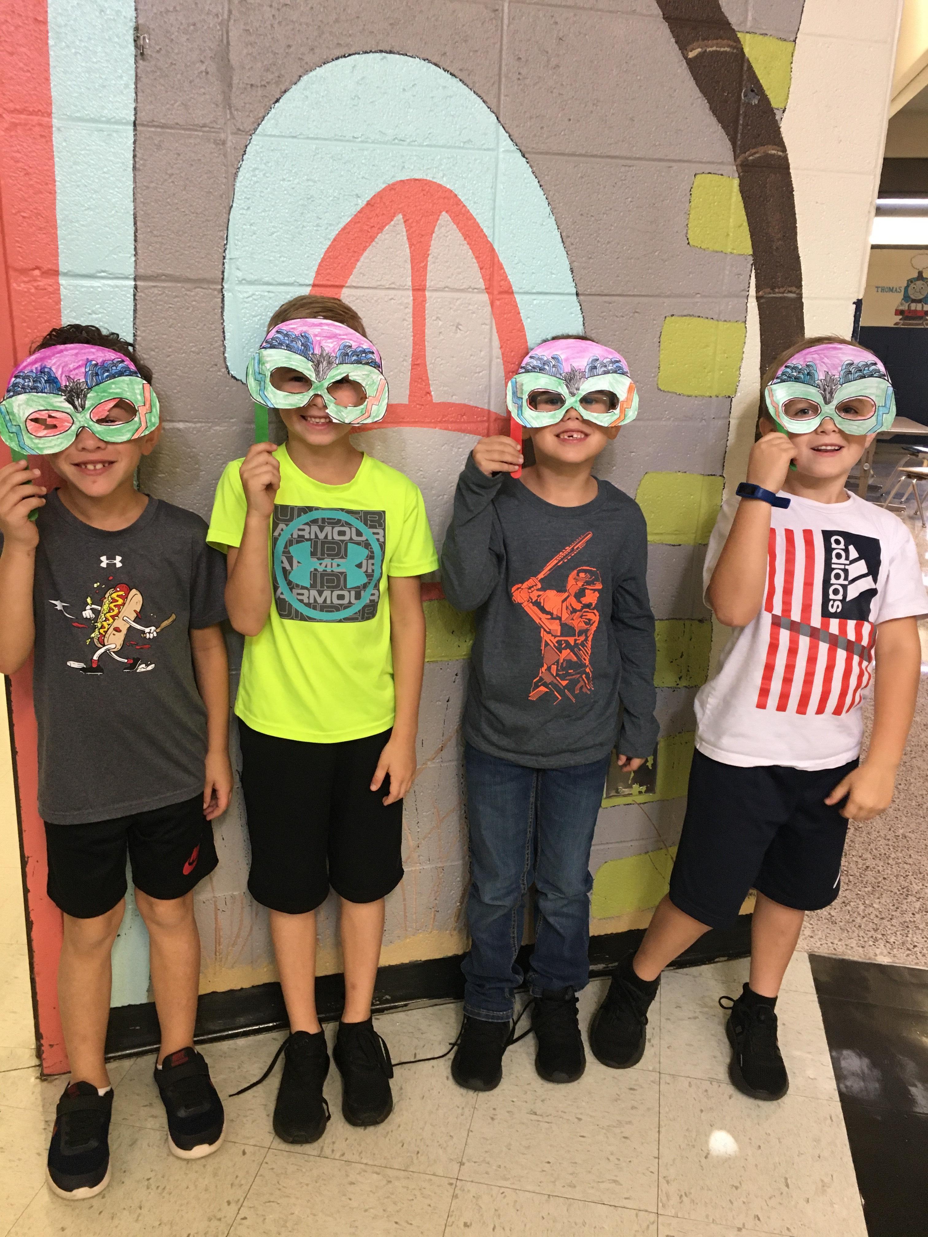 Twinnng in 1st Grade!