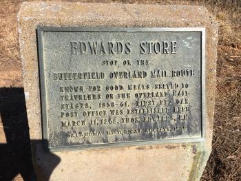 Edwards Historical Marker