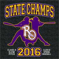 2016 State Champs - Softball & Baseball product view number 1
