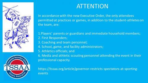 TSSAA Announcement