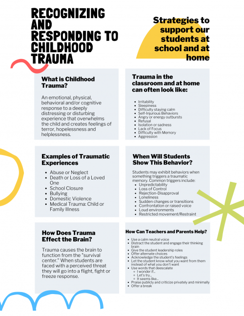 Recognizing trauma in students