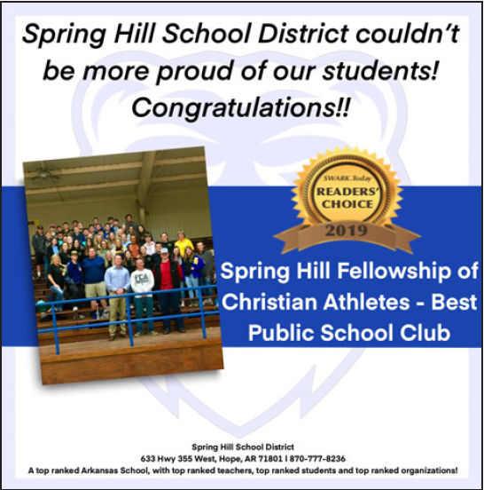 Best Student Club - FCA!