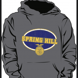 Spring Hill FFA hoodies for sale.