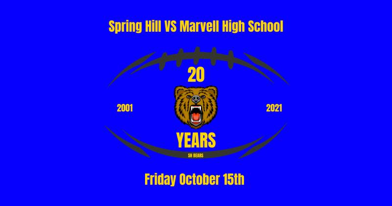 20 Year Football Celebration