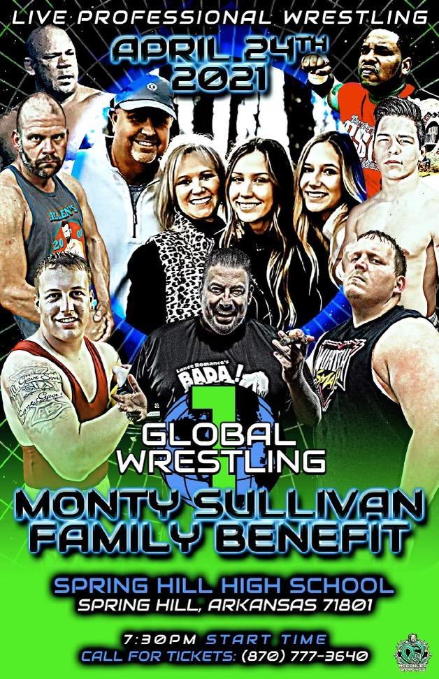 Wrestling Benefit - Monty Sullivan Family
