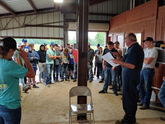 FFA/Agri Students Attend High School Field Day