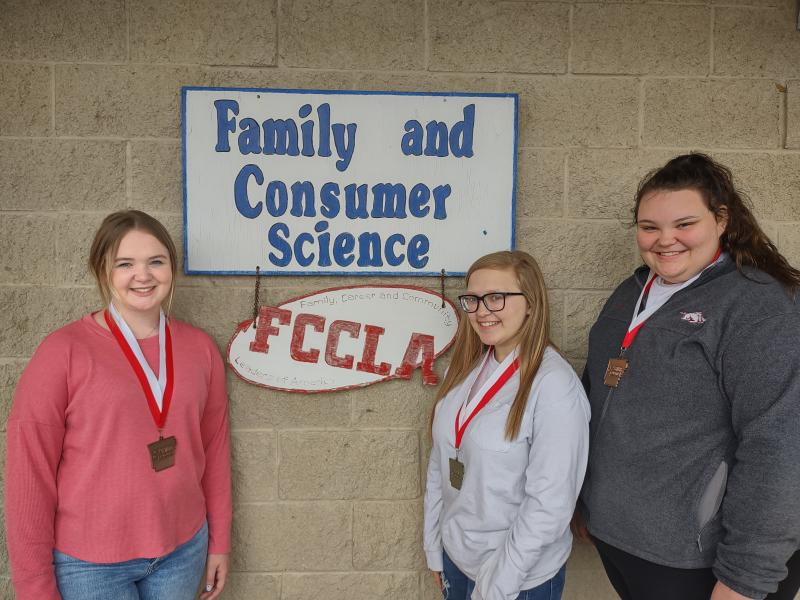 Spring Hill FACS Students Qualify for State