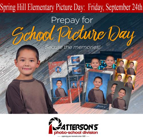 School Picture Day Dates