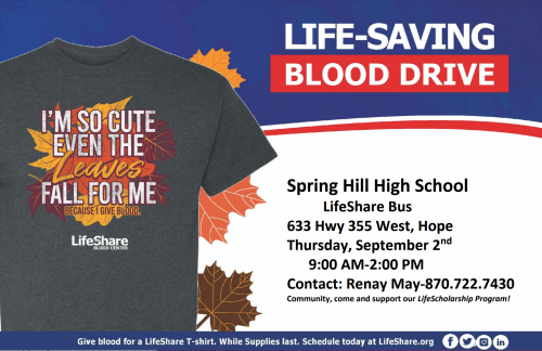 LifeShare Blood Drive
