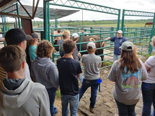 Ag Students Attend High School Field Day
