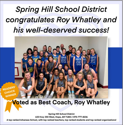Best Coach - Coach Whatley!