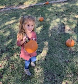 My perfect pumpkin.