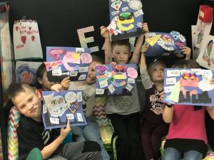 First grade learned about Super E
