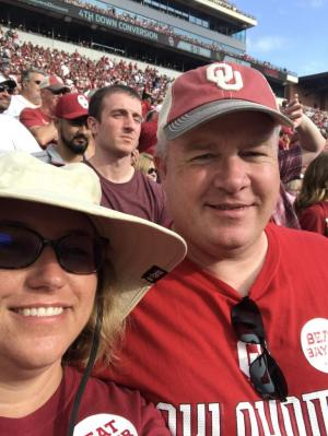 I am married to a Sooners fan...Boomer!