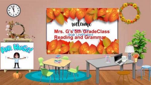 fall classroom