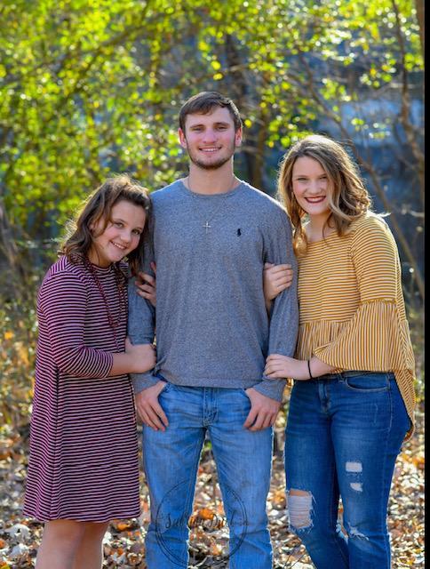 My 3 children: Dawson, Delanie, & Destrie