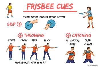 frisbee cues
