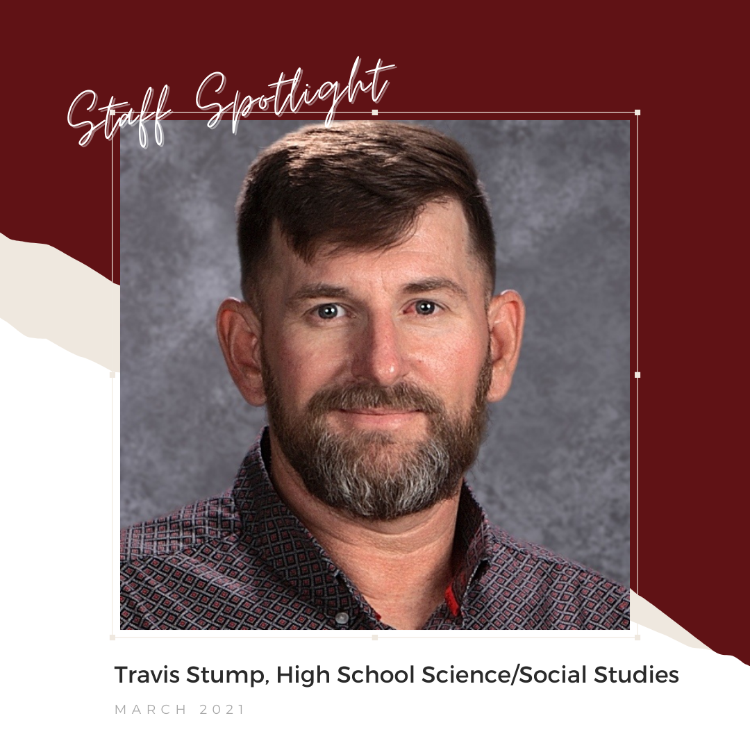 March Staff Spotlight, Travis Stump