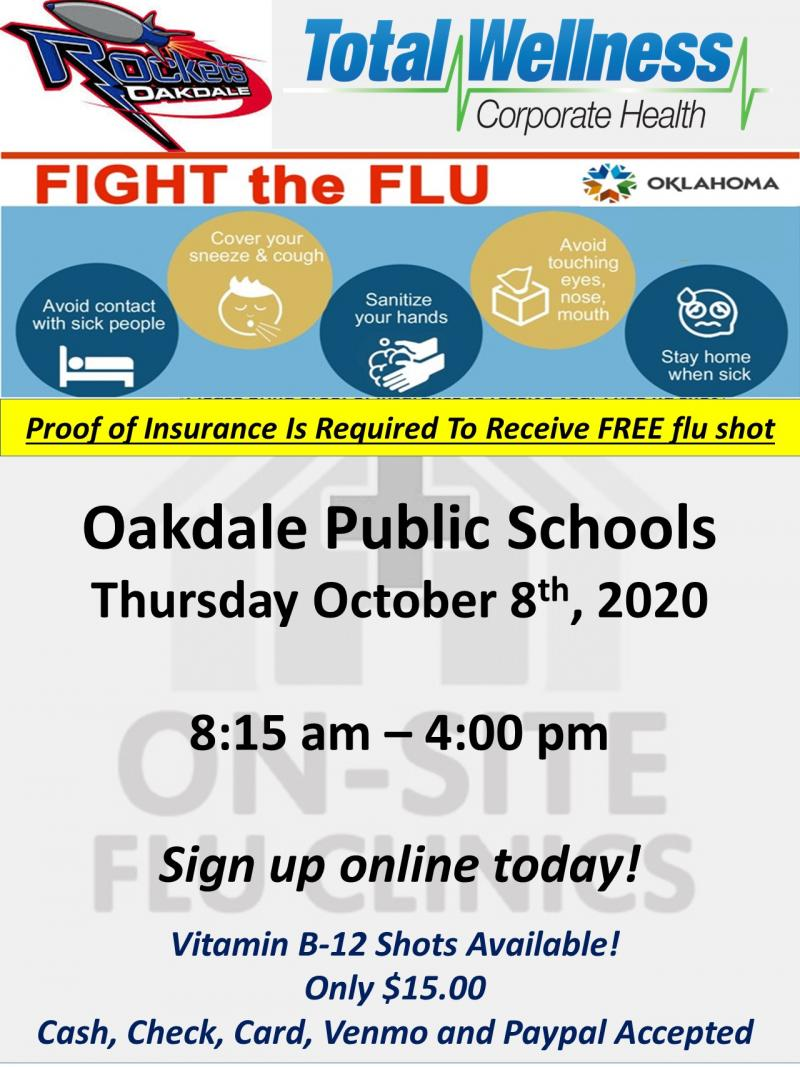 FLU SHOT CLINIC - OCT 8