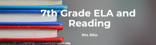 7th Grade ELA and Reading image