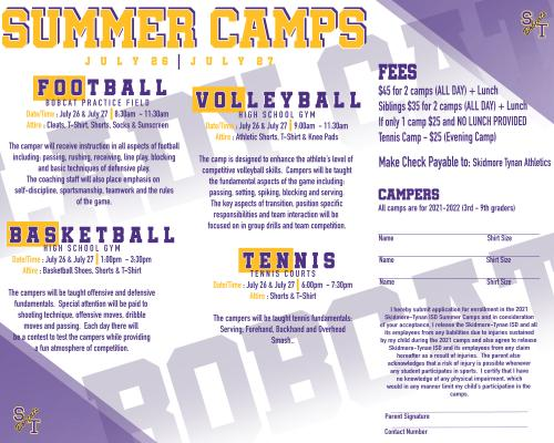 S-T Summer Camps