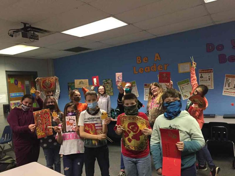 5th graders Celebrate other Cultures