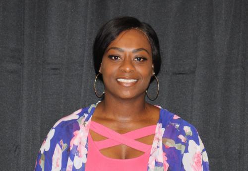 image of girls' coordinator April Chism