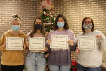Practical Nursing Students Awarded Scholarships from PVGH Auxiliary