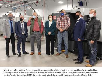 New Manufacturing Building Officially Opens