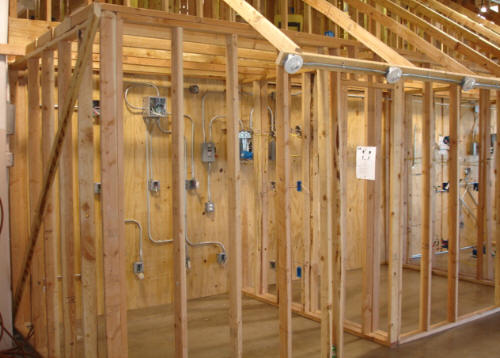 Electrical Frame House Photo