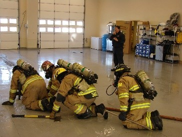 Firefighter Training Photo