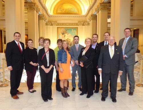 LMA Students at the Capitol