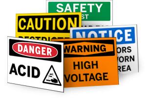 OSHA Signs Photo