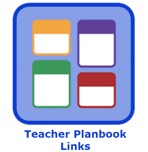 Teacher Planbook Links