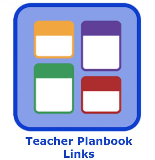 Teacher Planbook Links