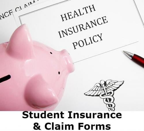 Student Insurance and Claims Form Link Image