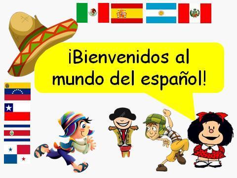 bienvenidos al mundo de espanol